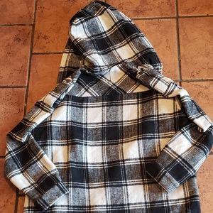 Forever 21 Jackets & Coats - Forever 21 Plaid Long Coat